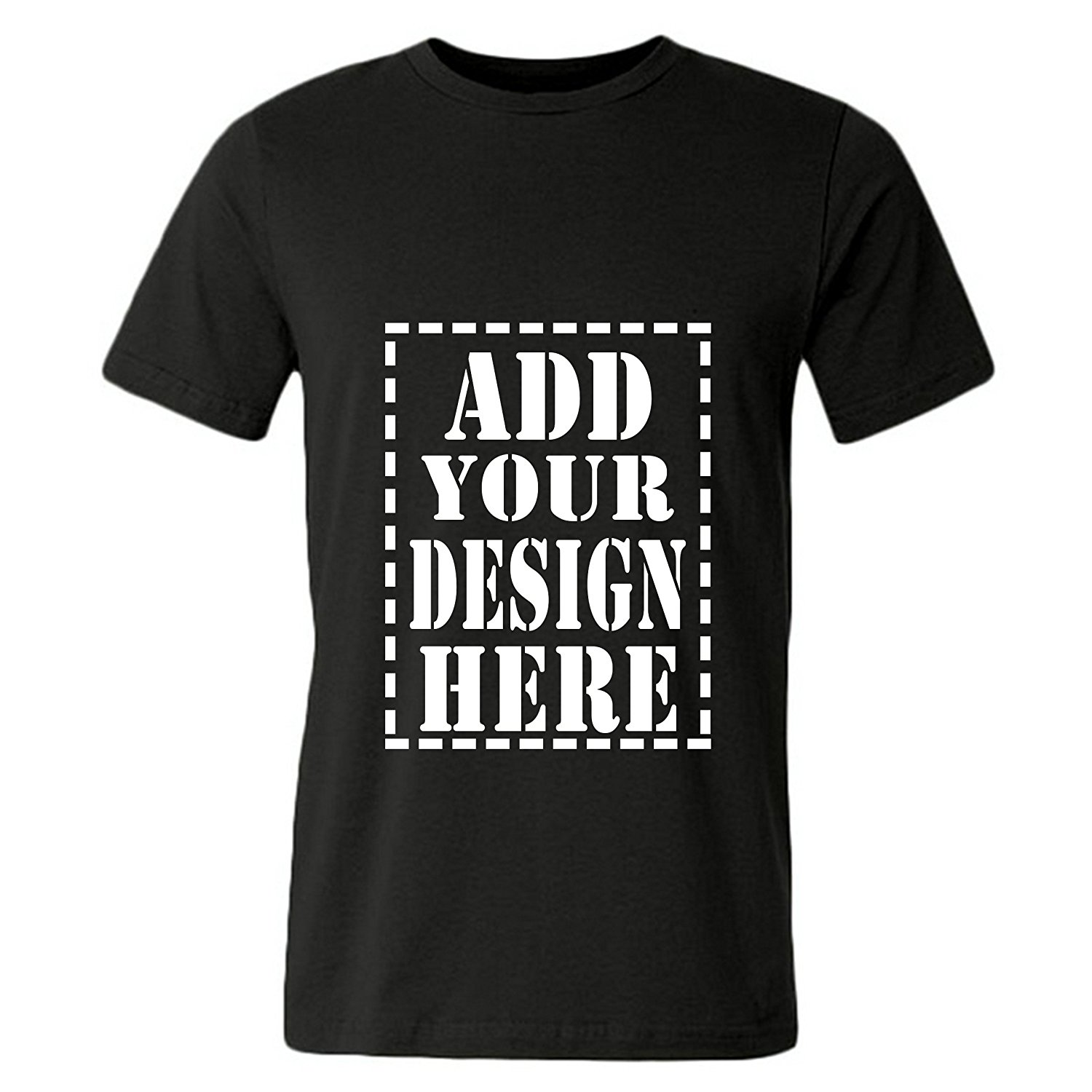Amazon.com: JISPO Add Your Design Here Custom 3D Printed T Shirts ...