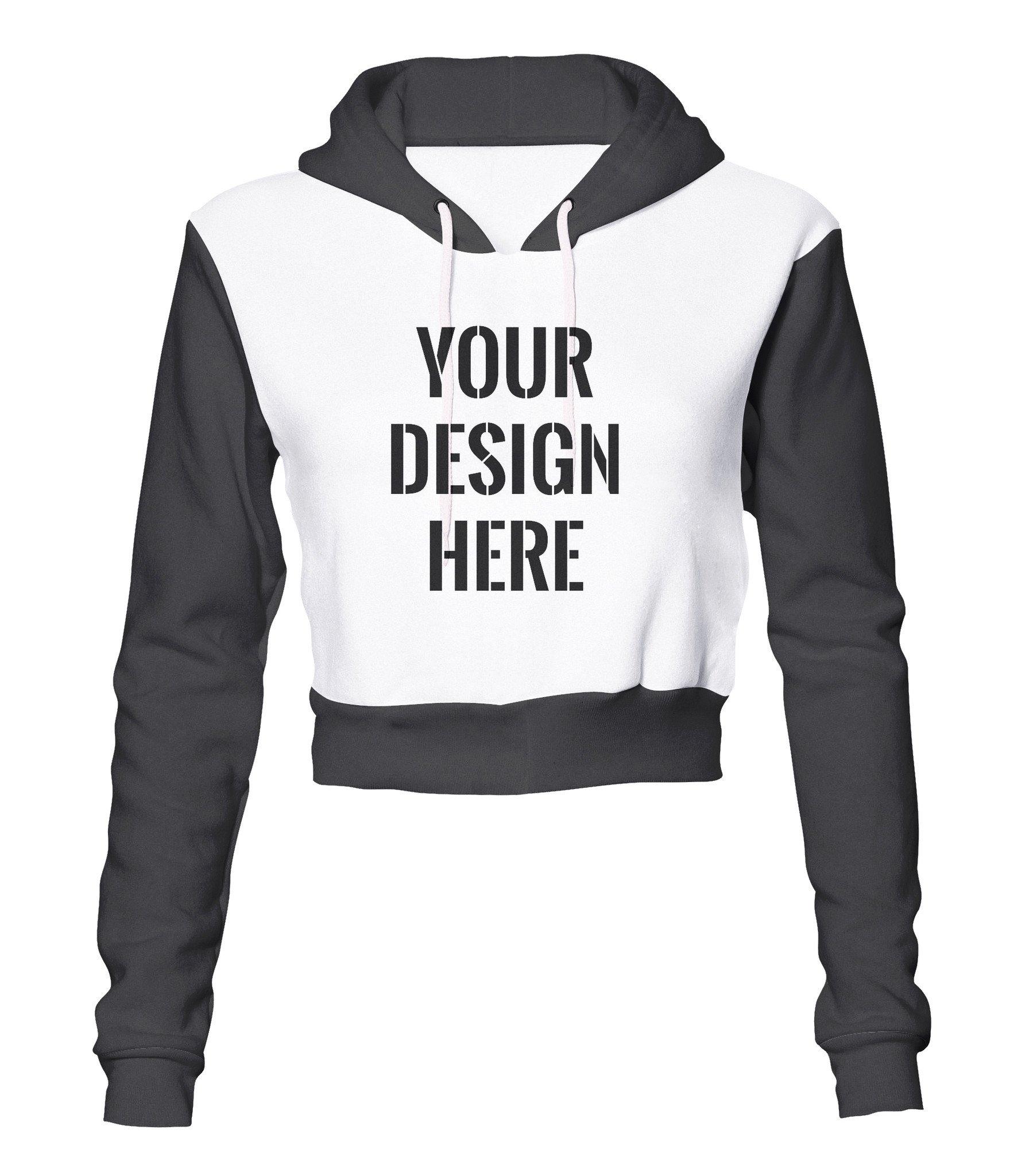 Design Crop Hoodie   doyou247