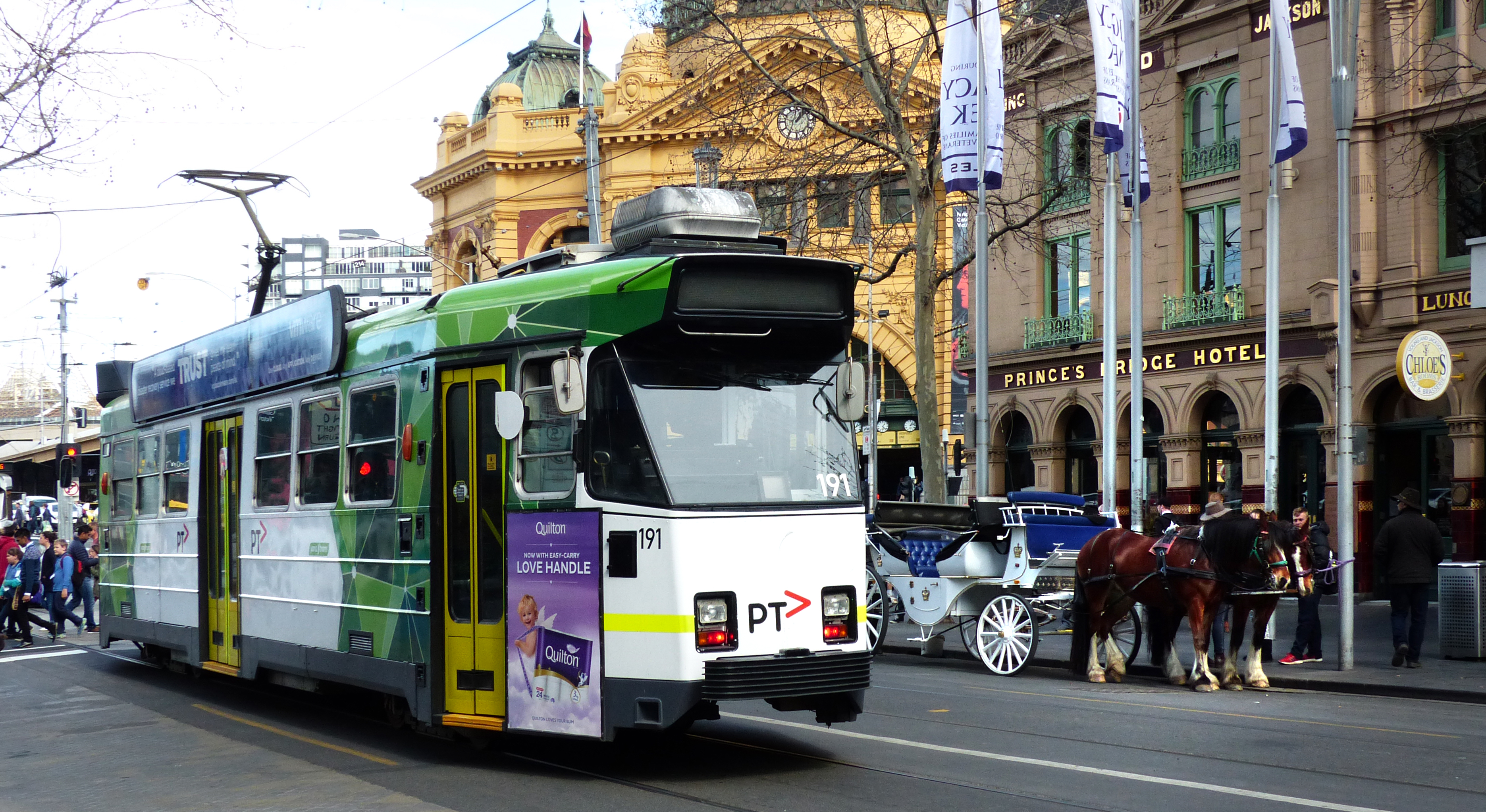 Z-class Melbourne tram, City, Free photos, Geo tagged, Lumix Fz200, HQ Photo