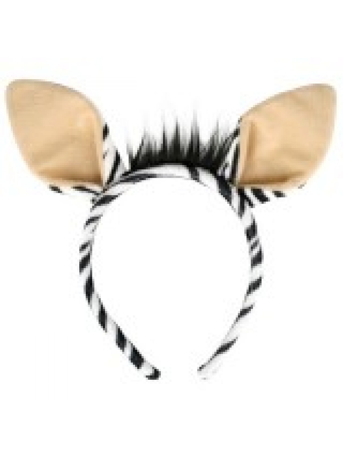 Zebra Ears on Headband - (ND1551)
