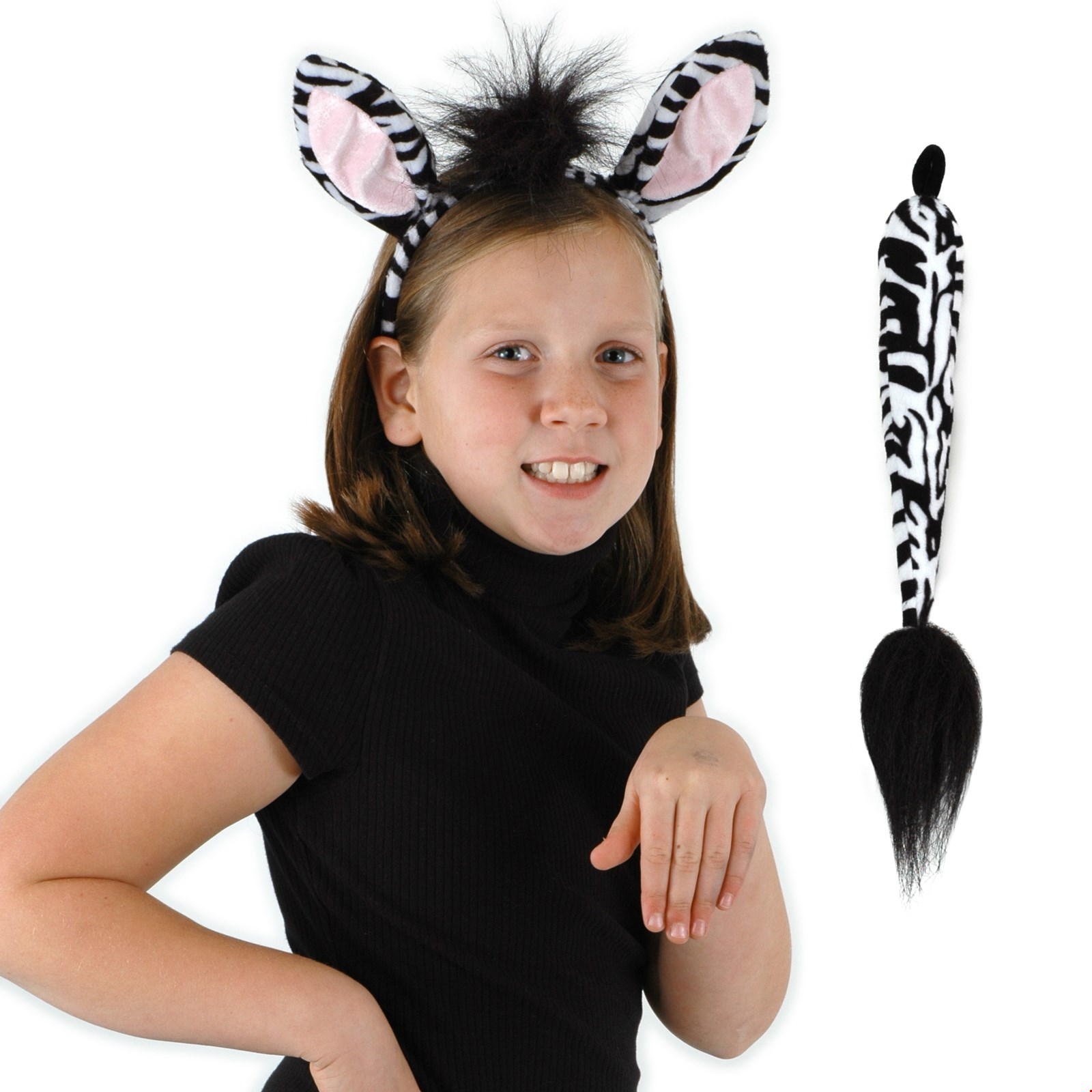 Buy Zebra Ears and Tail Kit