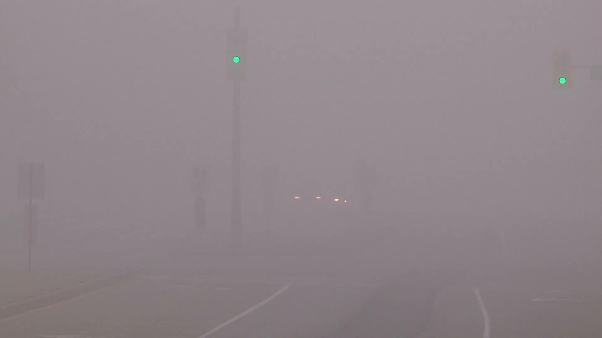 Zero visibility photo