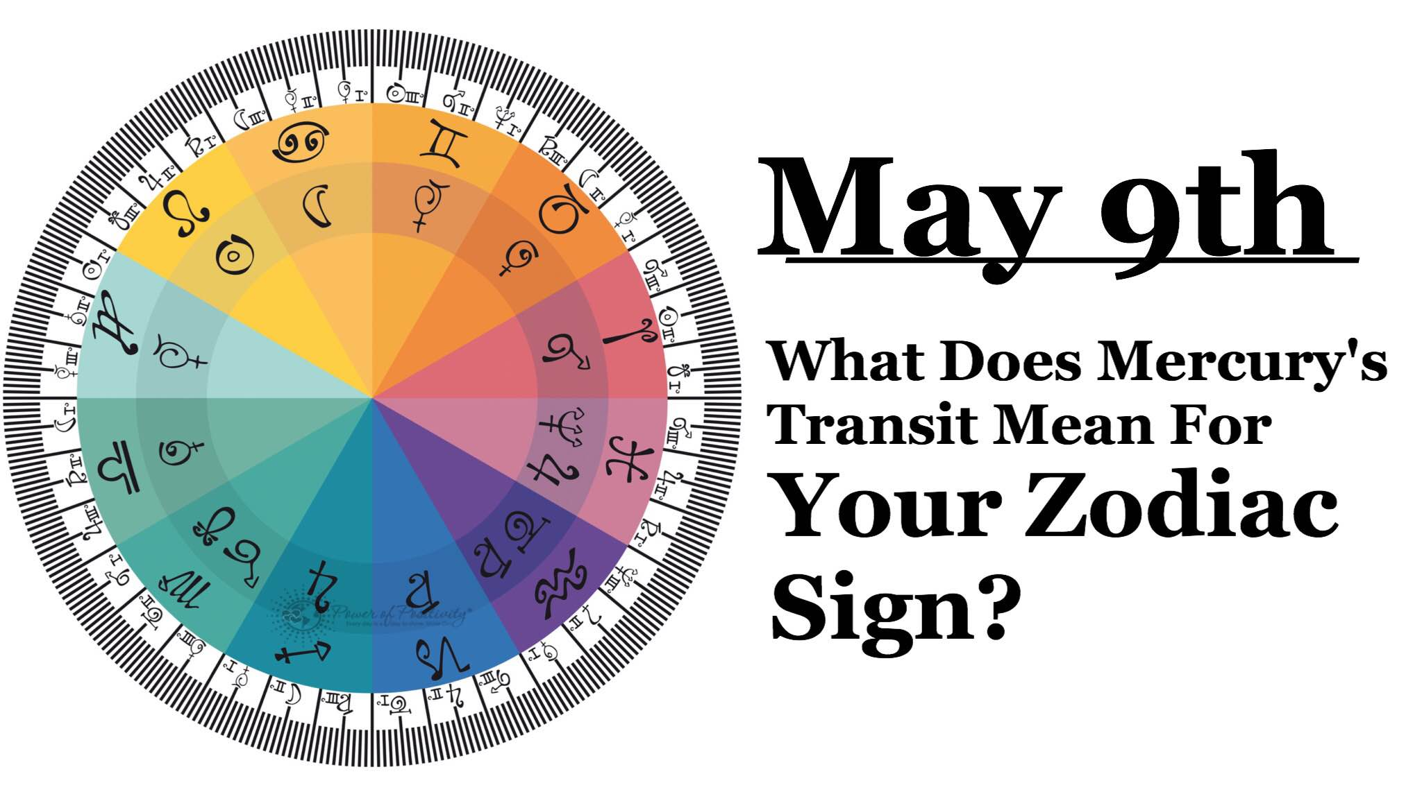 What Does Mercury's Transit on May 9th Mean For Your Zodiac Sign?