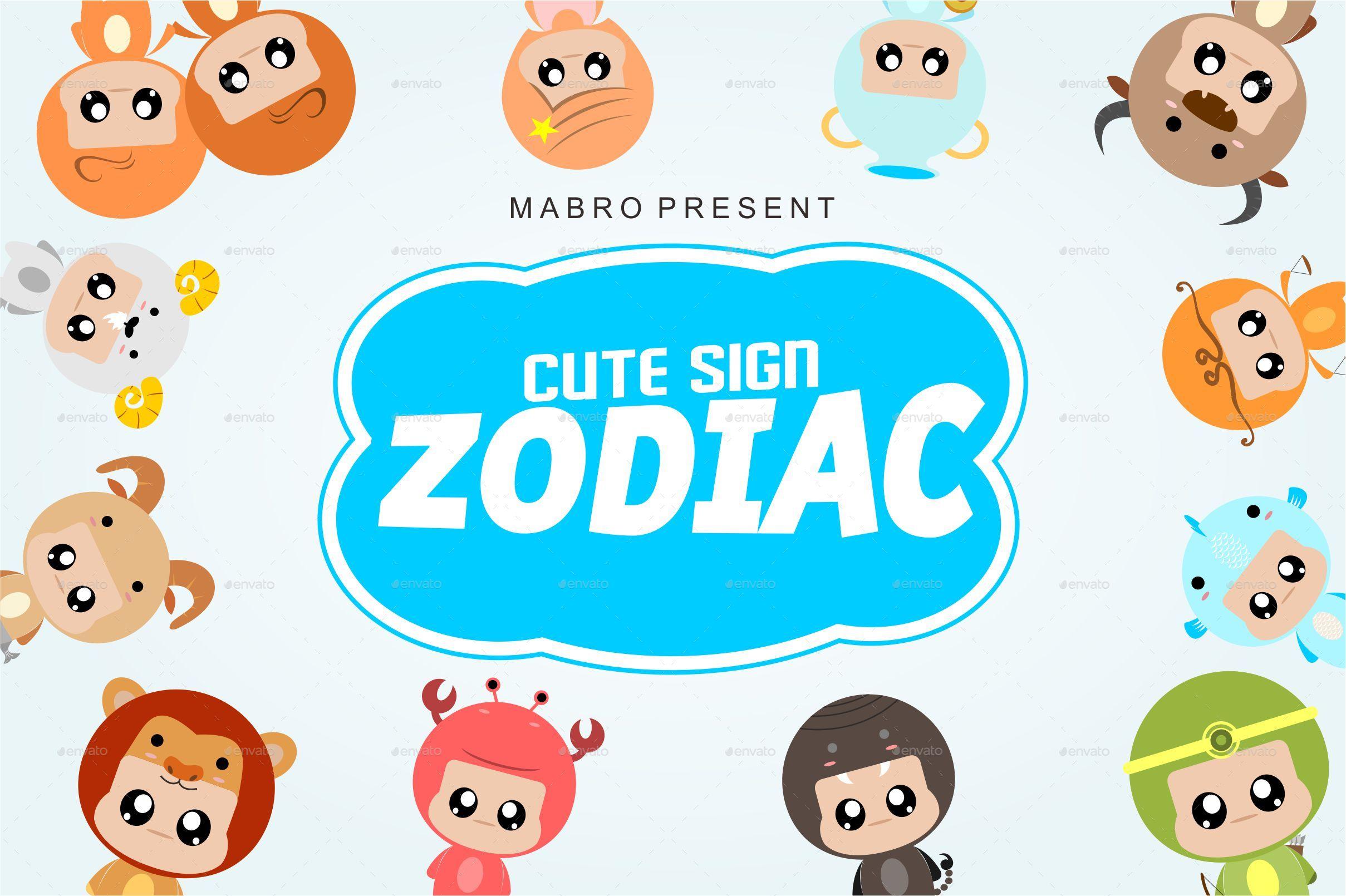 Zodiac Signs by khurasan   GraphicRiver