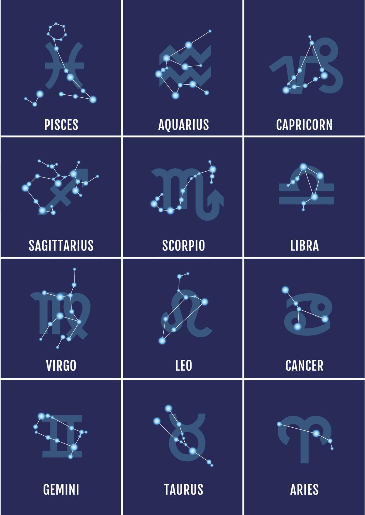 A List of Zodiac Signs and Dates You Need to Bookmark Right Away