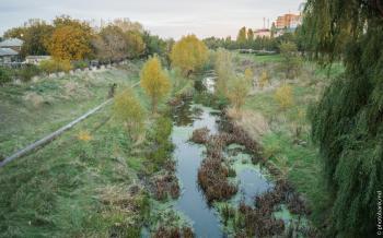 Бельцы, Реут / Riul Raut in Balti / Raut River in Balti