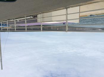 今日の海、港の様子 in 鹿嶋