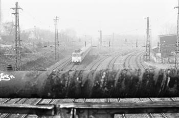 ...I live beside the tracks...