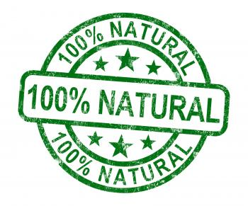 100 Natural Stamp Shows Pure Genuine Product