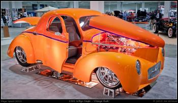 1941 Willys Coupe - 'Orange Rush'