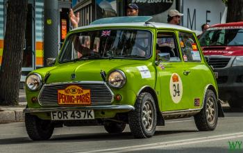 1972 Austin Mini - Paul Hartfield & Chris Hartfield