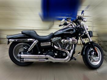 2010 Harley Davidson Dyna Fat Bob.