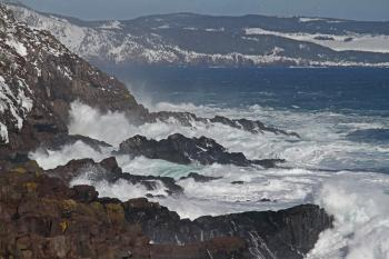 2011 - FEB 12 - 22 - NEWFOUNDLAND -059 Cape Spear after the storm (23c)