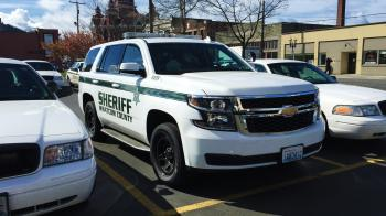 2015 Chevy Tahoe: Whatcom County Sheriff's Office