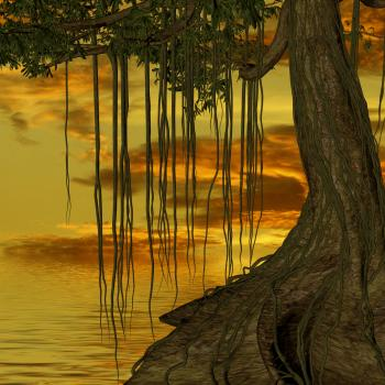 3D Tree and Landscape