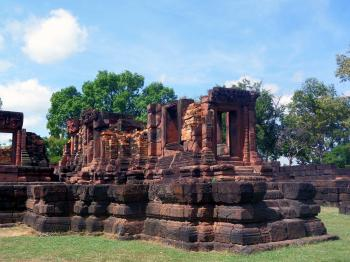 700 year old temple ruins