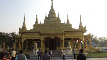 A beautiful temple