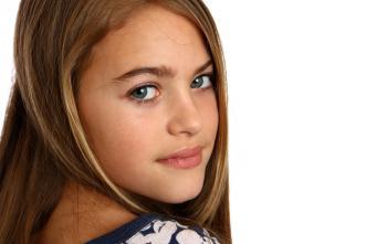 A beautiful young girl