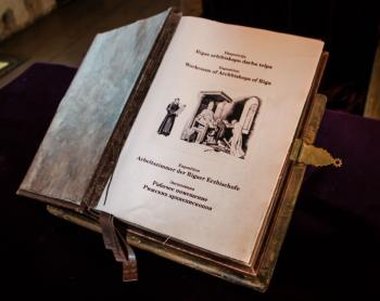 A book from Archbishop of Riga