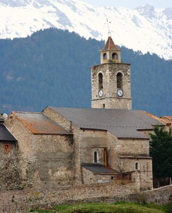 A Historical Monastery In The Mountains