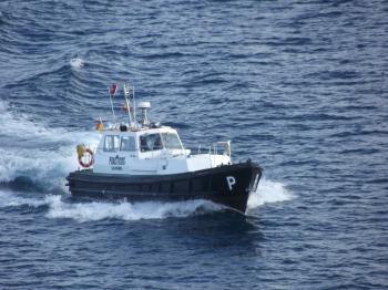 A pilot boat - Las Palmas
