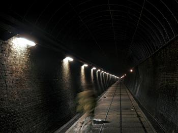 A Surge in Tsaoling Tunnel