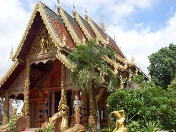 A Thai Buddhist Temple