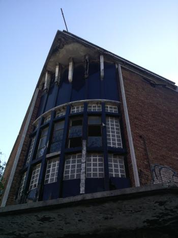 Abandoned Building Art Decor