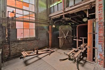 Abandoned Lonaconing Silk Mill - HDR