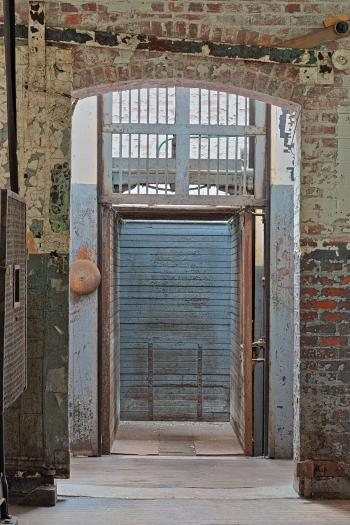 Abandoned Silk Mill Elevator - HDR