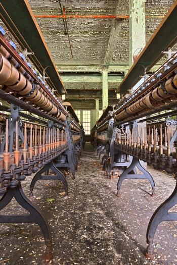 Abandoned Silk Mill - HDR