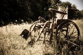 Abandoned Wheelchair