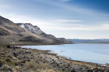 Abert Lake Oregon in Spring