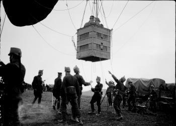 Abhebender Ballon 1914-18