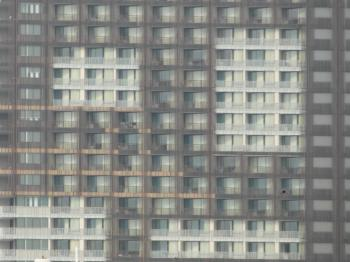 Abstract Apartment Block