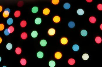 Abstract Bright colored lights