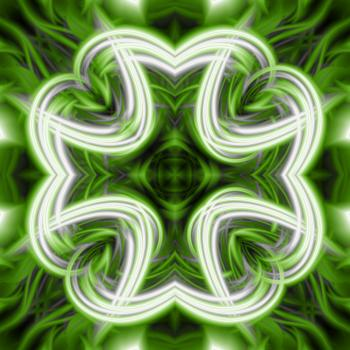 Abstract Clover