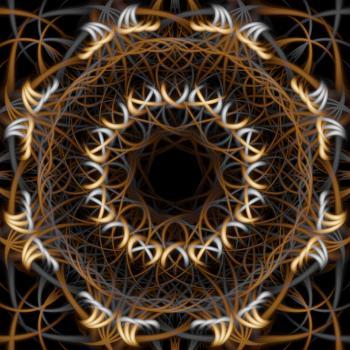 Abstract Dreamcatcher Texture