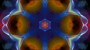 Abstract Fractal Art Wallpaper