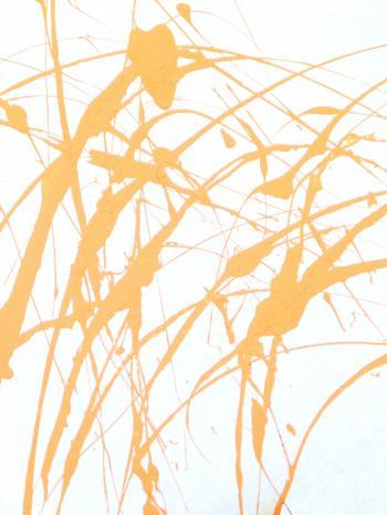 Abstract Paint Splat