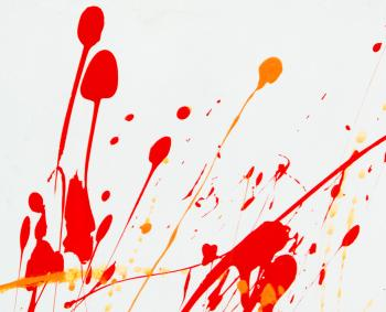 Abstract Paint Splat