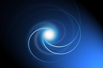 abstract swirl background blue