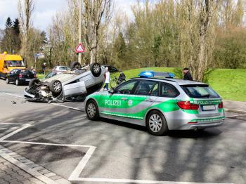Accident on the Road