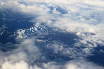 Aerial Photography of White Clouds