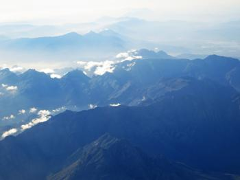Aerial Shot Of Mountain