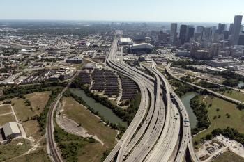 Aerial View Houston