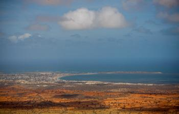 Aerial views of Kismayo 03