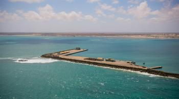 Aerial views of Kismayo 05
