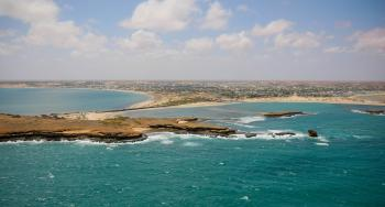 Aerial views of Kismayo 07