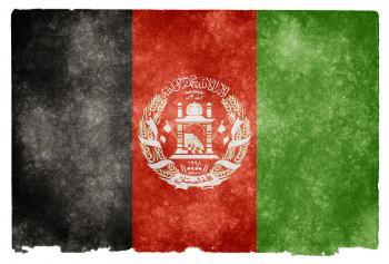 Afghanistan Grunge Flag